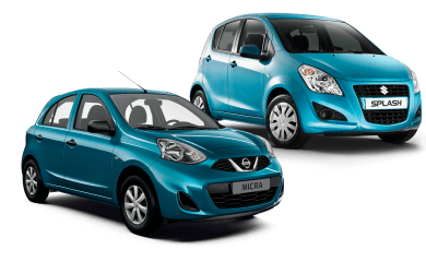 Οικονομικά μικρά ενοικιαζόμενα αυτοκίνητα στη Σαντορίνη