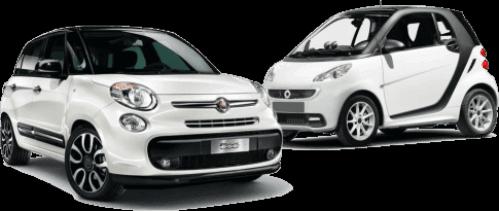 Premium μικρά ενοικιαζόμενα αυτοκίνητα στη Σαντορίνη