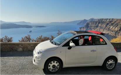 Rent a car in Santorini from Fresh Rent